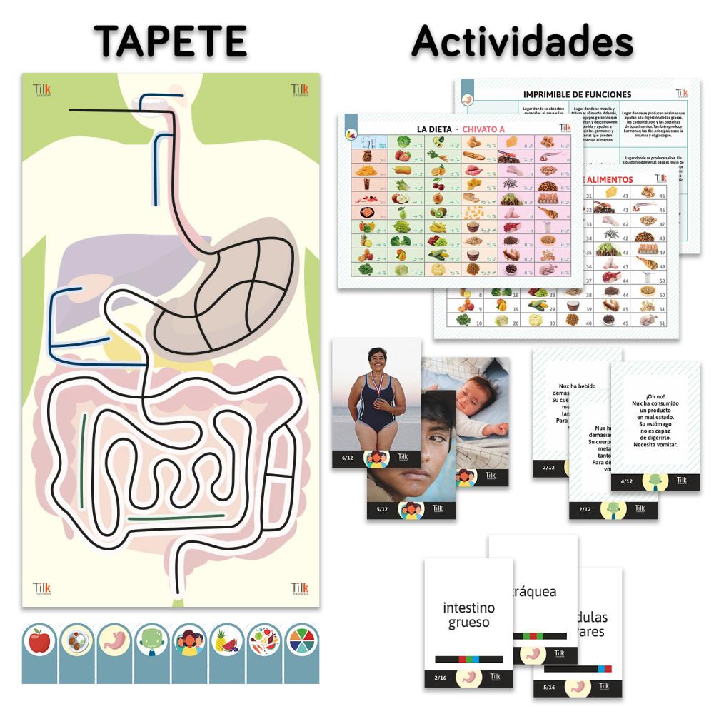 Tapete Digestivo y actividades de Tilk Education