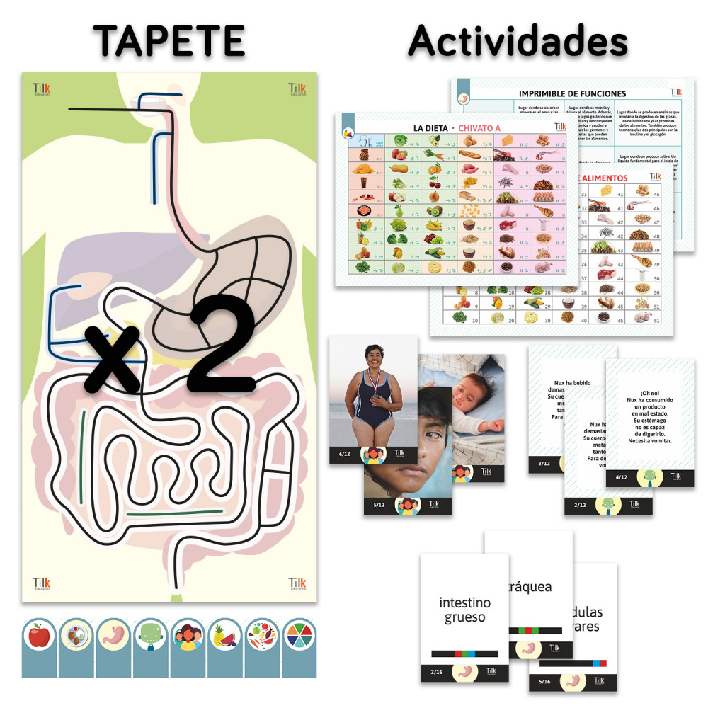 TILK Education: Pack 2 tapetes y actividades