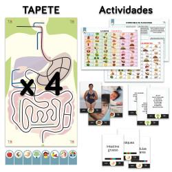 TILK Education: Alfombra y actividades sobre el aparato digestivo