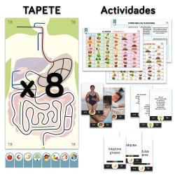 TILK Education: Aparato Digestivo y actividades complementarias (pack x8)