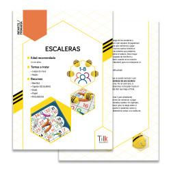 Ficha de actividad para Tapete Escaleras y Toboganes de TILK Education