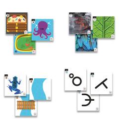 Fichas de actividades de Primaria para tapetes de TILK Education