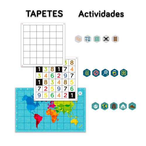 Tapetes y actividades del Pack Aula Primaria de TILK Education