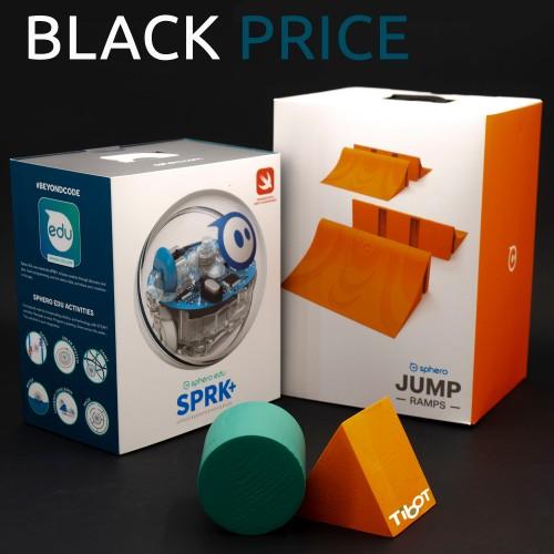 Sphero SPRK y rampas embalaje