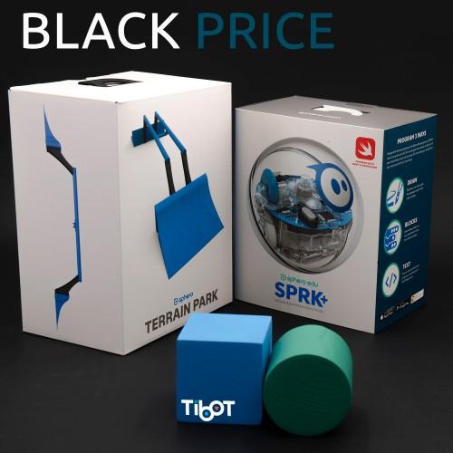 Sphero SPRK y rampas de salto con rieles embalaje