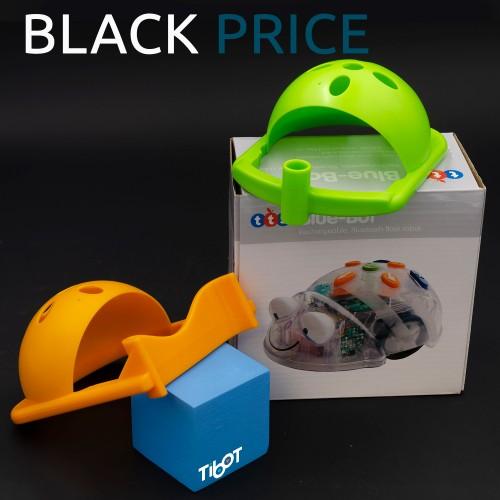 Bluebot, empujador y portabolis embalaje