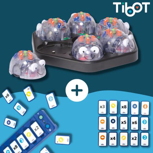 blue bot class bundle con tactile reader y fichas