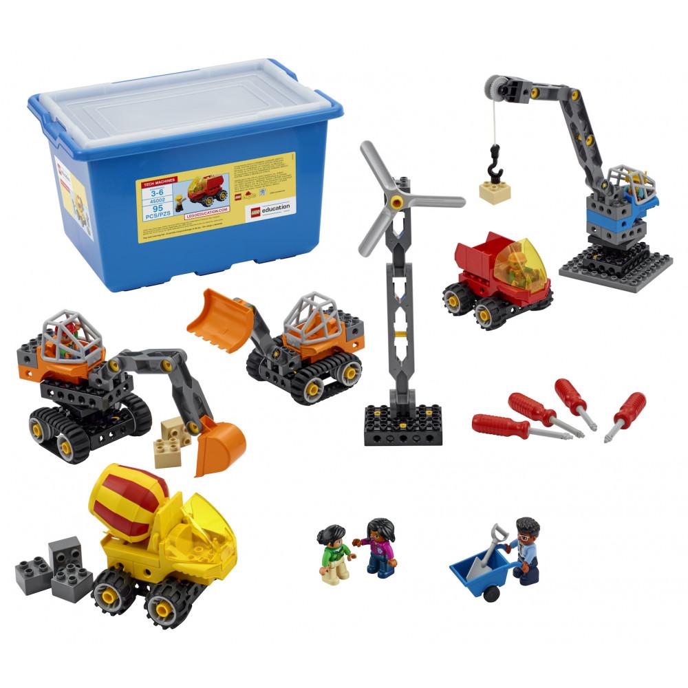 Contenido de Maquinaria Técnica de Lego Duplo