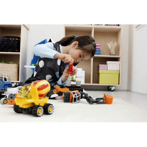 Construyendo con Maquinaría Técnica de Lego Duplo