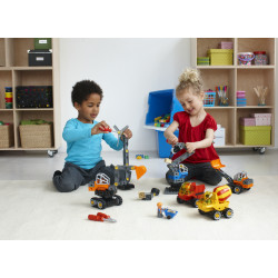 Construir, jugar y aprender con Maquinaría Técnica de Lego Duplo