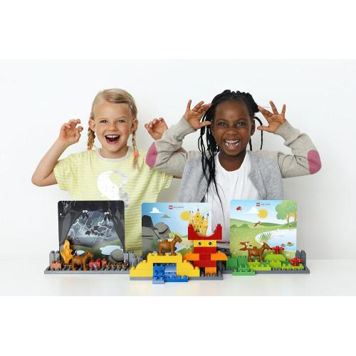 Trabajando la creatividad con Escenografías de Lego Duplo