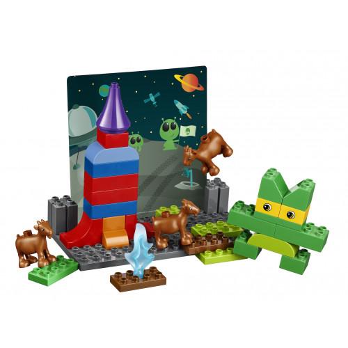 Escena construida con Escenografías de Lego Duplo
