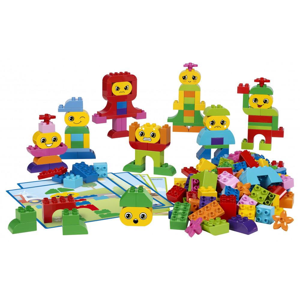 Contenido de Construye Emociones de Lego Duplo