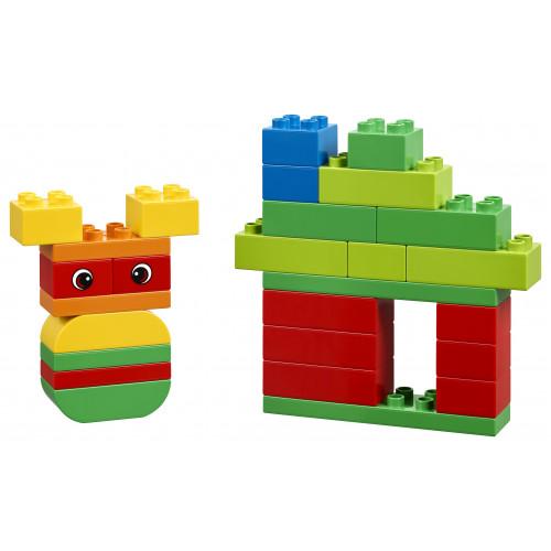 Figuras creadas con el Set creativo de ladrillos de Lego Duplo