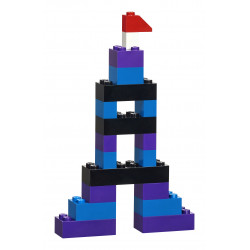 Ejemplo de creación con el Set creativo de ladrillos de LEGO