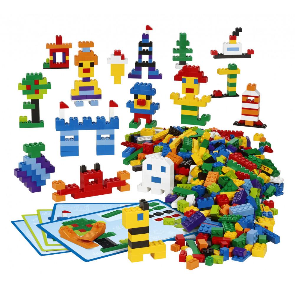 Contenido del SET creativo de ladrillos de LEGO