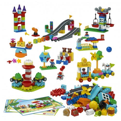 Contenido de Parque STEAM de Lego Duplo
