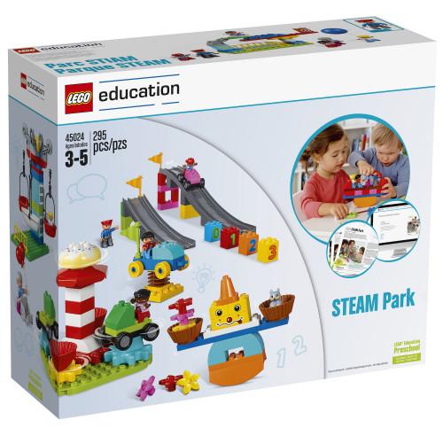 Anverso caja Parque STEAM Lego Duplo