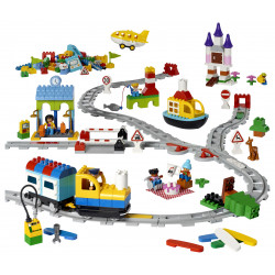 Contenido de Coding Express de Lego Duplo