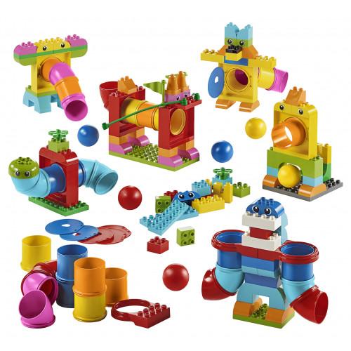 Contenido de Tubos Lego Duplo