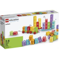 Anverso de cada Letras Lego Duplo