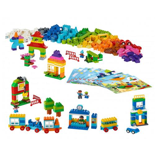 Contenido de Mi Mundo XL Lego Duplo