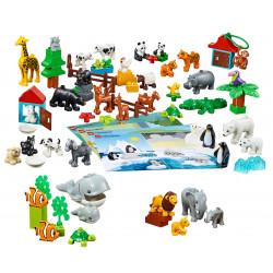 Contenido de Animales Lego Duplo