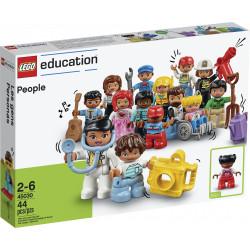 Anverso caja Gente Lego Duplo