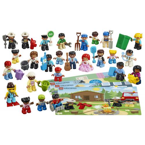 Contenido de Gente Lego Duplo