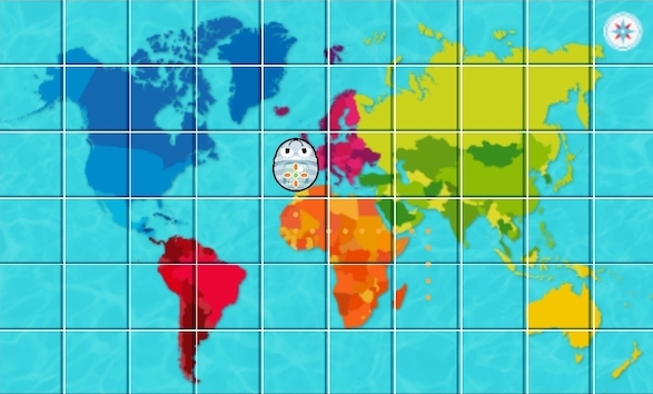 App Blue Bot tapete mapamundi