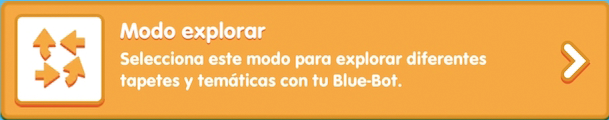 App Blue Bot modo explorar