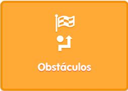 App Blue Bot modo reto obstáculos