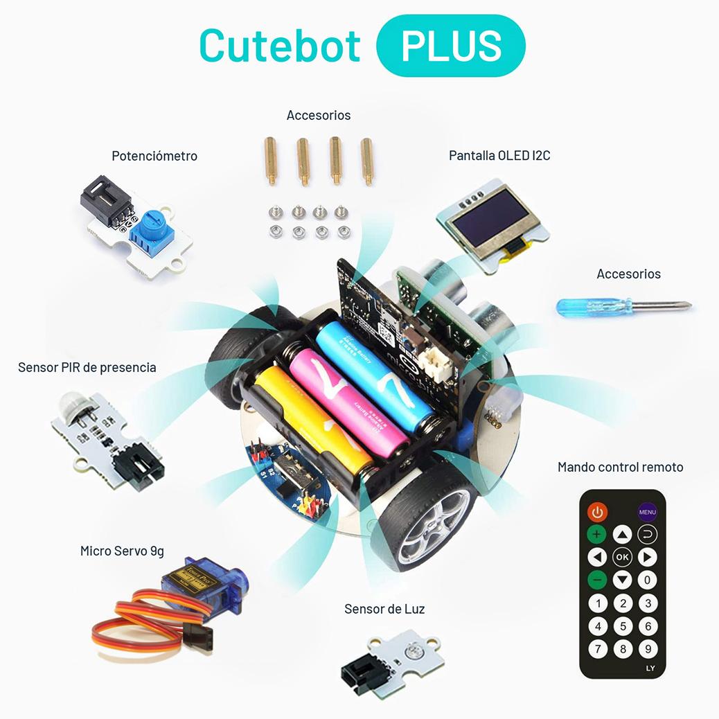 Cutebot micro:bit componentes
